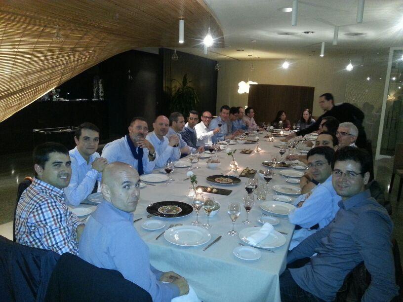 Wireless Days 2013. VIP dinner!!