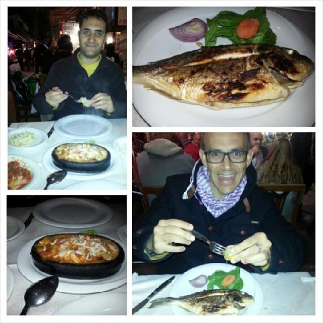 Enjoying Istanbul cuisine