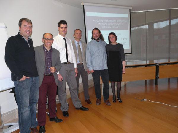 Julio's PhD Committee and advisors!. [Source: Diario de Teruel, 13/04/2014]