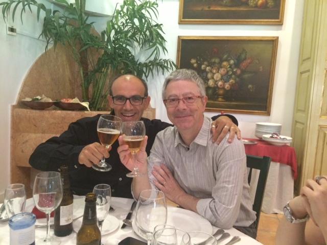 With prof. Francisco Serón from Zaragoza University