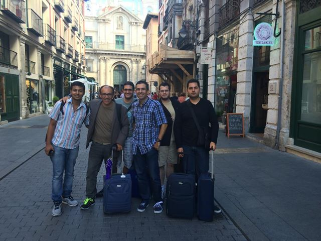 The GRC Group lands in Valladolid!
