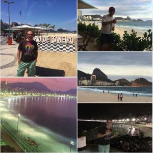 Copacabana Beach & Pan de Azucar